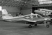 PA 23 Apache 235 Fitted With The Aztec Style Square Fin And Rudder