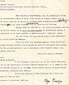 Pismo do Vlahov za da napise statija vo Tanjug, 1945.jpg