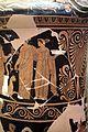 Pittore di dario, loutrophoros con sacerdotessa davanti altare di apollo, epigrafe KREOYSA (per la storia di ione), da tomba 1 di via bari (altamura), 330-320 ac ca. 06.jpg