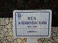 Placa da Rua Dr. Frederico Julio C. Madeira - Lagos - 14.12.2018.jpg