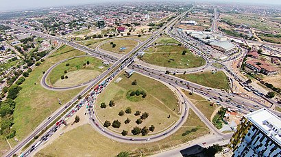 How to get to Tetteh Quarshie Interchange with public transit - About the place
