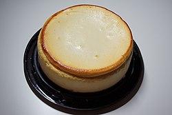 Plain New York-style cheesecake.JPG