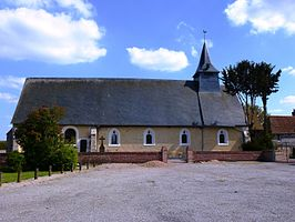 Kerk Saint-Saturnin in Plainville