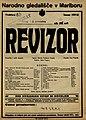 Plakat za predstavo Revizor v Narodnem gledališču v Mariboru 25. novembra 1927.jpg