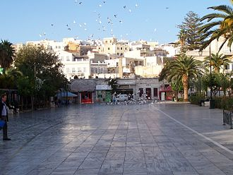 Miaouli Square -  View from the west side of the square