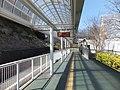 Platform of Yuenchi-Nishi Station 20160322.jpg