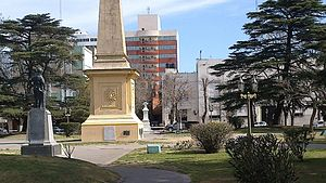 Dolores, Buenos Aires - Plaza Castelli, central square of Dolores