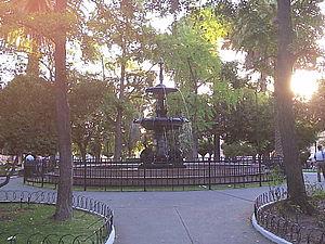 San Fernando, Chile - San Fernando's central plaza.