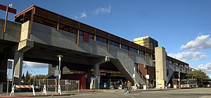 Pleasant Hill/Contra Costa Centre station - The front entrance of the Pleasant Hill BART Station