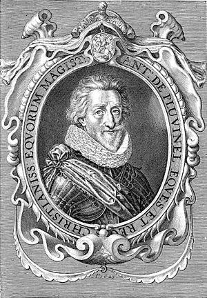Antoine de Pluvinel - Antoine de Pluvinel, portrait
