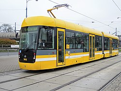 Tramvaj VarioLF2/2 IN v Plzni