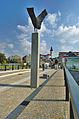 Pohled na historické centrum z mostu Dr.M.Tyrše, Přerov (03).jpg
