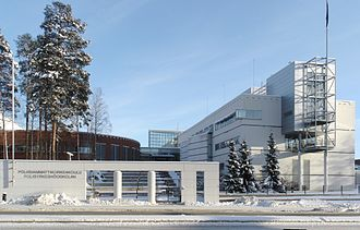 Police University College (Finland) - The Police University College campus in Hervanta, Tampere pictured in 2009