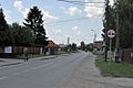 Poland Zgorzala Entrance to the village from Warsaw.jpg