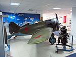 Polikarpov I-16 at Central Air Force Museum Monino pic5.JPG
