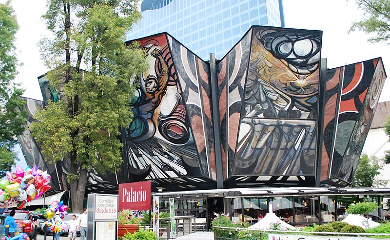 7 of the best street art cities in the world a new life for El mural de siqueiros