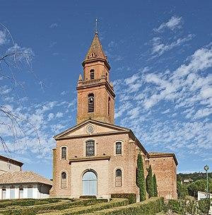Pompignan, Tarn-et-Garonne - Image: Pompignan (Tarn et Garonne) Église Saint Grégoire Façade