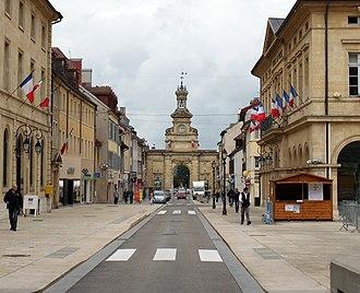 Pontarlier - Image: Pontarlier Porte Saint Pierre 7
