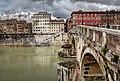 Ponte Sisto Roma HDR 2013 03.jpg