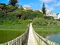 Ponte sobre o rio Safarujo em S. Lourenço (Portugal).jpg