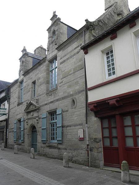 Maison sise 10 rue du Pont à Pontivy (56).