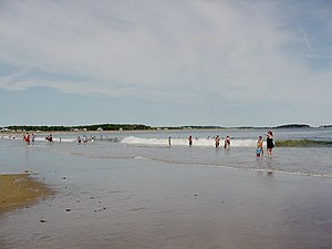 English: Popham Beach, Maine Deutsch: Popham B...