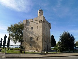 The 18th century Saint Louis tower