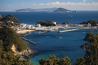 Tōshijima - Image: Port of Wagu