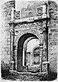 Portada del palau Vich segons el gravat de Cecilio Pizarro publicat el 1860.jpg