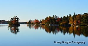 Porters Lake, Nova Scotia - Porters Lake in the Fall of 2015.