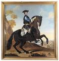 Porträtt. Ryttarporträtt. Karl XII. Krafft - Skoklosters slott - 22231.tif