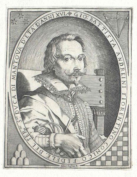 File:Portrait of Giovan Battista Andreini, engraved by Cesare Bassani - Österreichische Nationalbibliothek.jpg