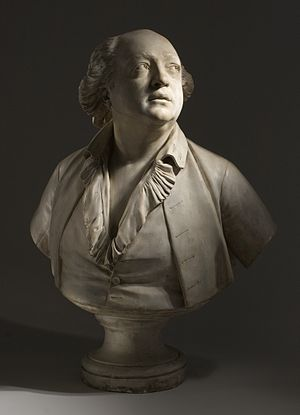 Alessandro Cagliostro - Bust of Giuseppe Balsamo by Jean-Antoine Houdon, 1786