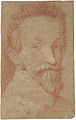 Portrait of an Actor, drawing - Domenico Fetti - Sotheby's 24 January 2007 lot 37.jpg