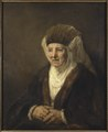 Portrait of an Old Woman (Rembrandt Harmensz. van Rijn) - Nationalmuseum - 17585.tif
