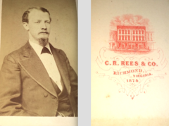 Portrait of man by C R Rees and Co of Richmond Virginia USA.png