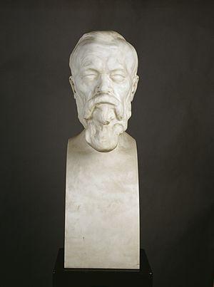 Wilhelm Wundt - Wilhelm Wundt portrait bust by Max Klinger 1908