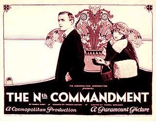 <i>The Nth Commandment</i> 1923 film by Frank Borzage