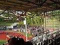 Poststadion, Gästeblock mit BFC Dynamo-Fans.jpg