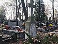 Powązki wojskowe - pomnik żołnierzy 10 pp poległych w zamachu majowym.jpg