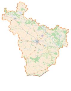 Mapa lokalizacyjna powiatu płońskiego