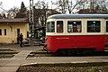 Praha, Dejvice, Bubenečské nádraží, slovenský motorák.jpg