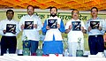 "Prakash Javadekar releasing a coffee table book on ""Gatha Nisargachi"", by the Forests Department (Govt. of Maharashtra, at the ""World Environment Day"" celebration, in Mumbai.jpg"