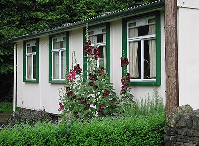 AIROH prefab preserved at the Museum of Welsh Life
