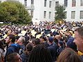 Pregame football rally at Sproul Plaza 2009-09-05 4.JPG