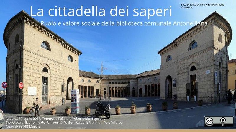 """File:Presentazione Report, Senigallia """"La cittadella dei saperi"""".pdf"""