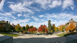 University of Utah Circle - A view of the University of Utah Circle