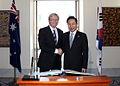President Lee visiting Australia in March 2009.jpg