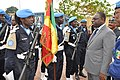 President Macky Sall of Senegal and UNPOL elements at MONUSCO Police Headquarters in Kinshasa, 14 October 2012 (8102279271).jpg