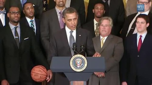 Şəkil:President Obama Welcomes the 2012 NBA Champion Miami Heat.ogv